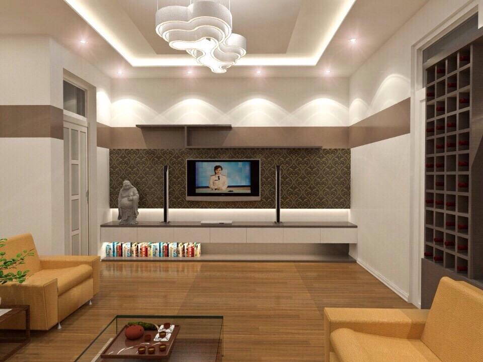 Thiết kế nội thất phòng khách chung cưThiết kế nội thất phòng khách chung cư