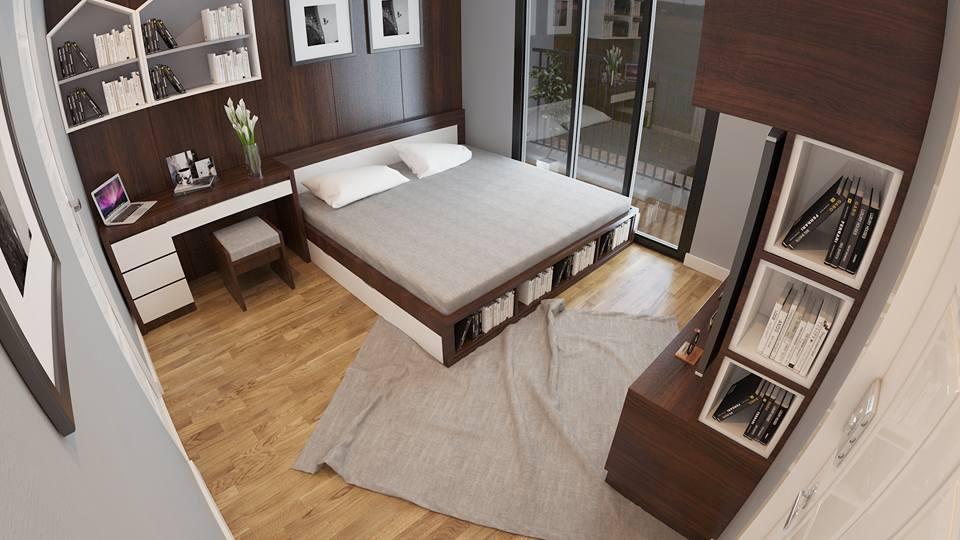 thiết kế nội thất phòng ngủ tại phú thọ