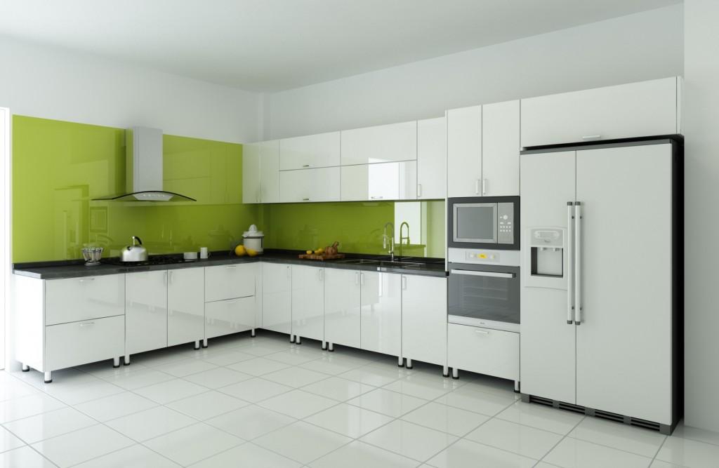 tủ bếp acrylic đẹp