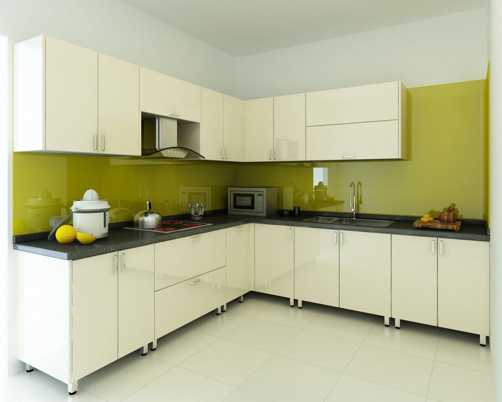 Báo giá tủ bếp gỗ acrylic