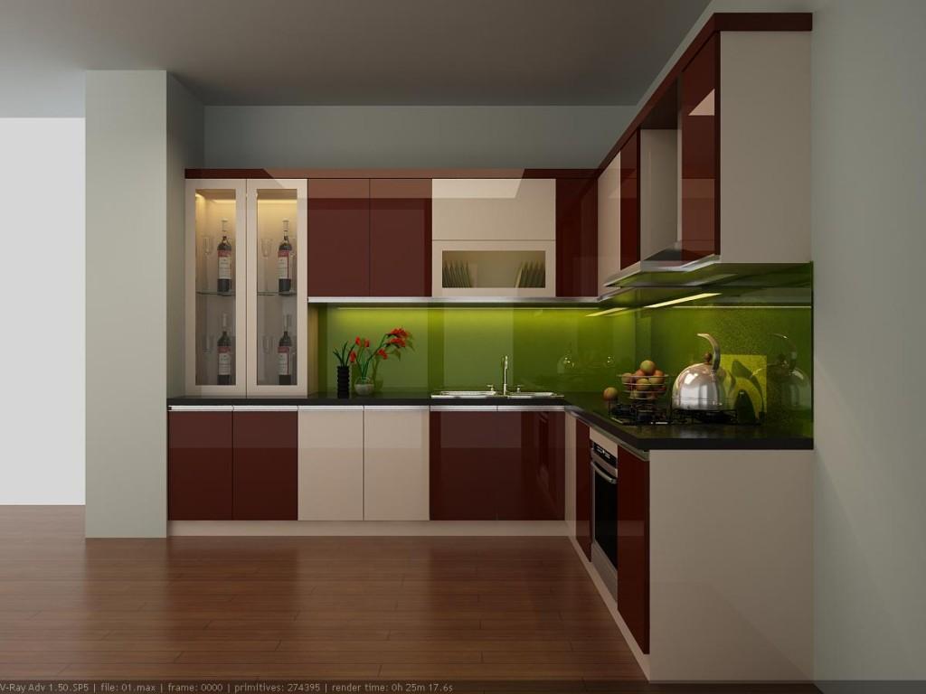 Tủ bếp acrylic là gì