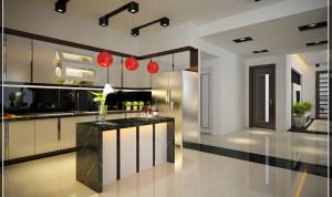 Tủ bếp acrylic đẹp tại Hà Nội có những đặc điểm gì