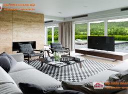 5 phòng khách biệt thự thể hiện xu hướng thiết kế hiện đại 2017