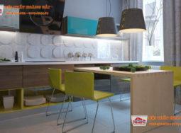 Thiết kế nội thất chung cư cho một gia đình trẻ