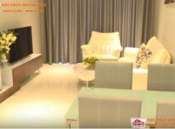 Thiết kế nội thất chung cư đẹp nhà chị Hà tại Linh Đàm