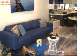 Thiết kế nội thất chung cư nhỏ lấy cảm hứng từ đại dương