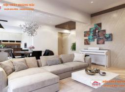 Thiết kế nội thất chung cư sang trọng nhà anh Hoàng tại Ciputra