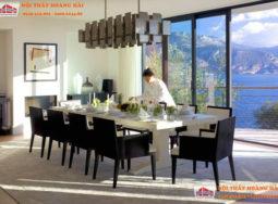 Thiết kế nội thất Villa đẹp với tầm nhìn toàn cảnh tuyệt vời