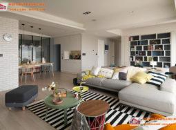 Cảm hứng trang trí Bắc Âu trong ngôi nhà đầy màu sắc