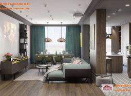 Cùng ngắm căn hộ hiện đại với tông màu sắc nét