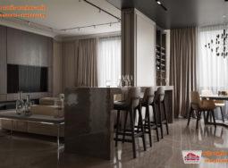 Thiết kế nội thất 3 căn hộ sang trọng cho những người độc thân