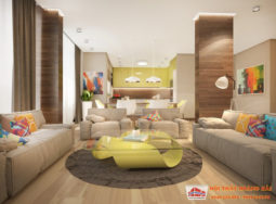 Thiết kế nội thất biệt thự của anh Thủy tại Ciputra