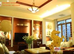 Thiết kế nội thất biệt thự phong cách tân cổ điển đơn giản