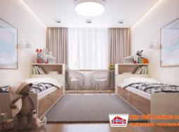 Thiết kế nội thất chung cư gia đình anh Thắng tại Linh Đàm