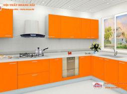 Tủ bếp cao cấp acrylic hiện đại