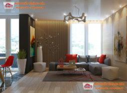 Vẻ đẹp của gỗ tự nhiên cao cấp trong thiết kế nội thất biệt thự