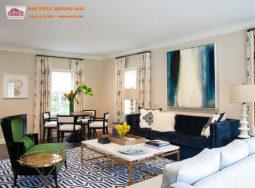 Thiết kế nội thất biệt thự mới mẻ hiện đại gần biển đẹp lung linh