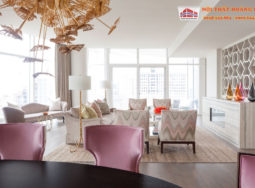 Thiết kế nội thất chung cư cho phái nữ sang trọng và lộng lẫy