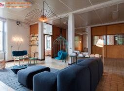 Ý tưởng thiết kế nội thất biệt thự mộc mạc và hiện đại 2017