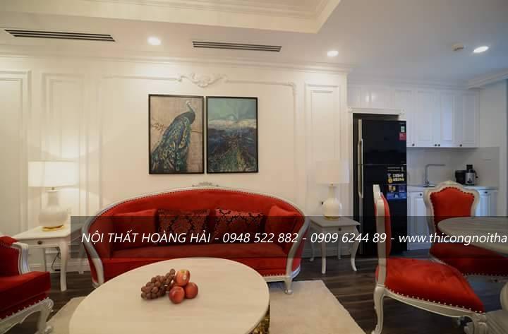 Thi công nội thất chung cư trọn gói tại hà nội cho phòng khách