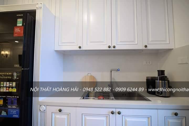 Thi công nội thất phòng bếp cho chung cư