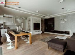 Thiết kế nội thất biệt thự hiện đại Vinhomes Riverside – anh Đức