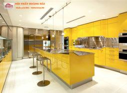 Thiết kế tủ bếp nhựa hiện đại ở Hải Phòng
