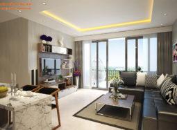 Thiết kế nội thất chung cư Vinhomes Melodia – chị Hồng