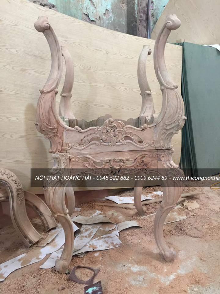 Xưởng đóng đồ tân cổ điển tại hà nội