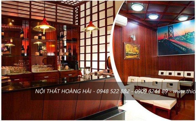 thiết kế nội thất nhà hàng thức ăn nhanh