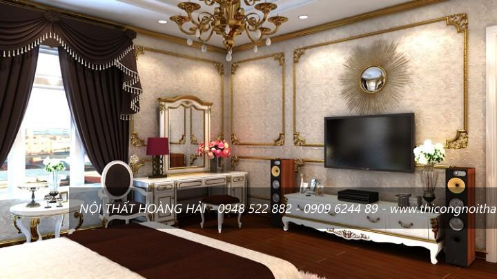 Nội thất phòng ngủ tân cổ điển giá rẻ tại hà nội