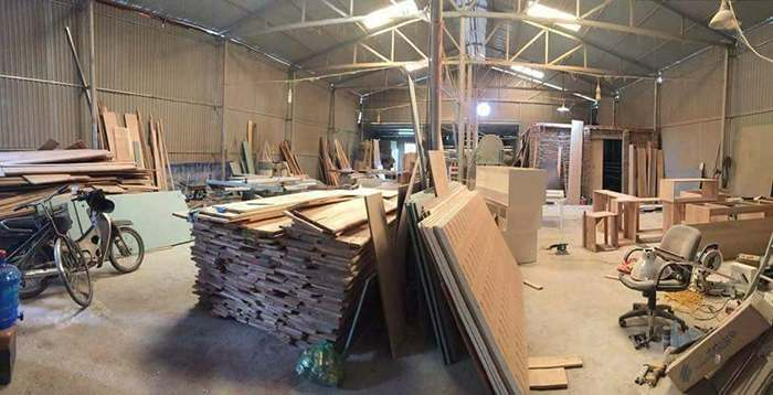 Xưởng gỗ óc chó Hoàng Hải