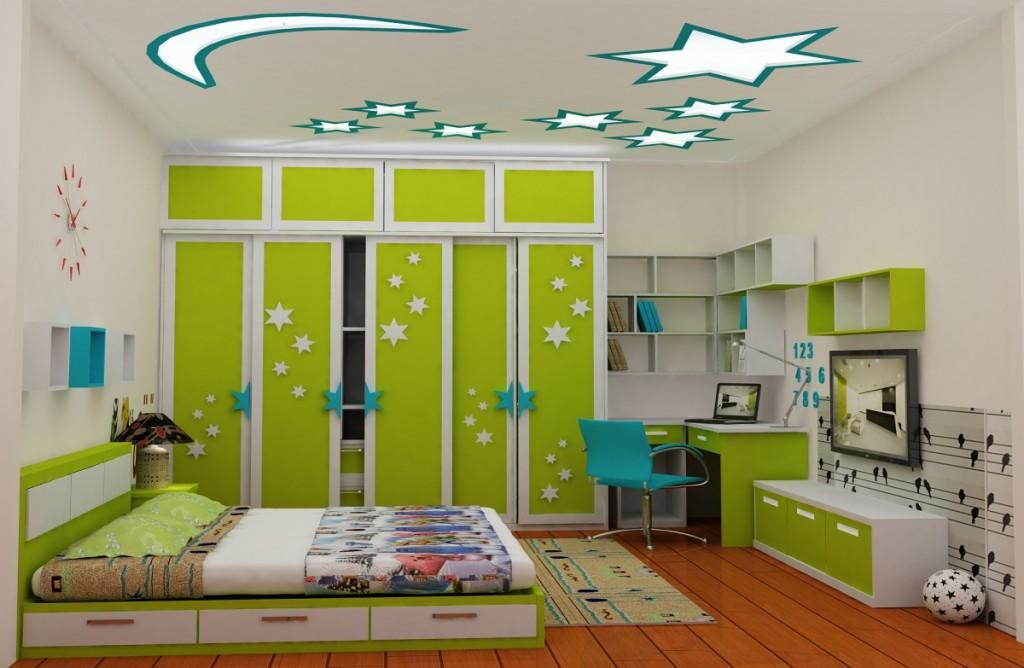 Thiết kế phòng trẻ em gia đình anh Huy