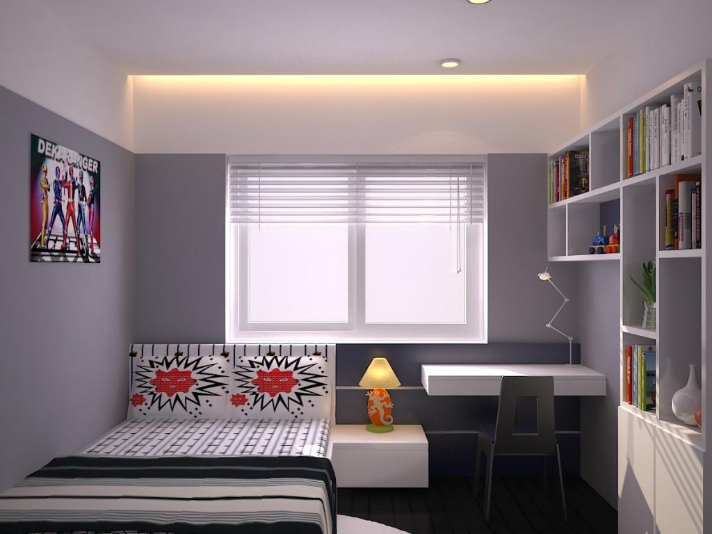 Phòng ngủ cho con đơn giản