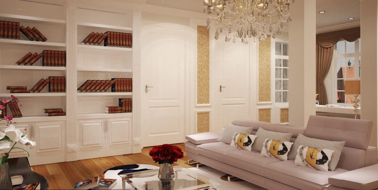 thiết kế và thi công nội thất tân cổ điển
