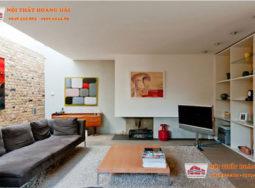 Thiết kế nội thất biệt thự phong cách hiện đại mát mẻ