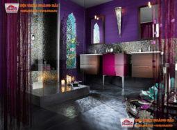 Ý tưởng thiết kế phòng tắm sang trọng cho chung cư