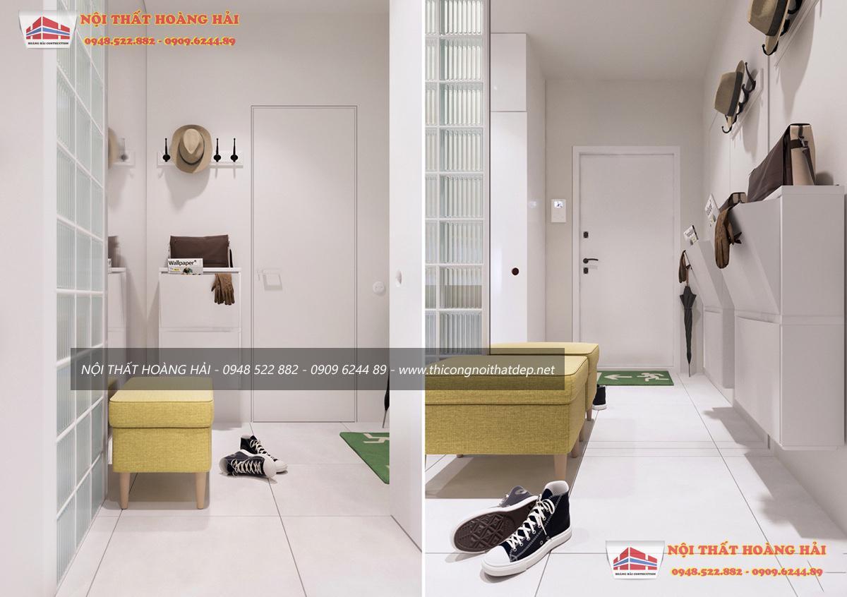 thiết kế nội thất một căn hộ