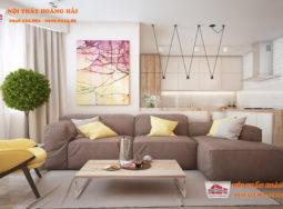 Thiết kế nội thất biệt thự đơn giản với giai điệu vui vẻ
