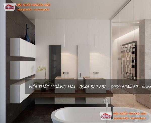 Thiết kế nội thất biệt thự từ gỗ