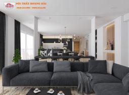 Thiết kế nội thất căn hộ cao cấp với chi tiết sang trọng tinh xảo