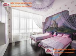 Thiết kế nội thất chung cư gam màu nâu đất độc đáo