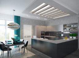Thiết kế nội thất chung cư với gam màu trung tính nổi bật
