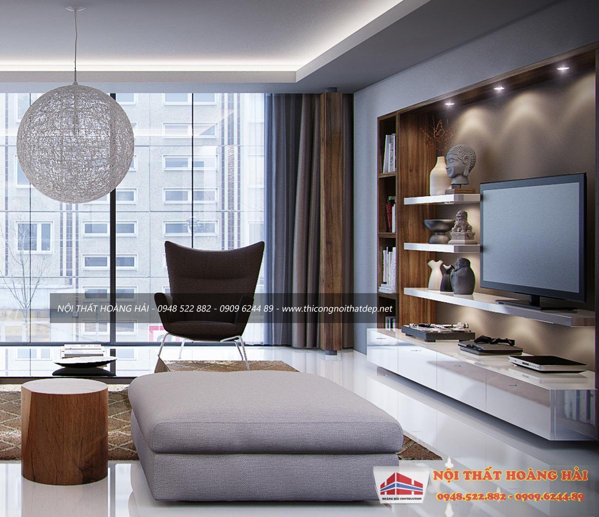 thiết kế nội thất chung cưhiện đại