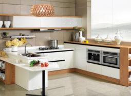 Tủ bếp nhựa PVC thân thiện với môi trường