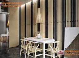 Vẻ đẹp của gỗ tự nhiên cao cấp trong thiết kế nội thất biệt thự p2