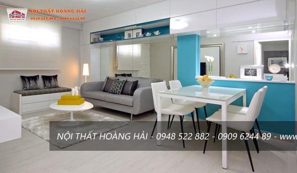 Thiết kế nội thất chung cư hiện đại lộng lẫy