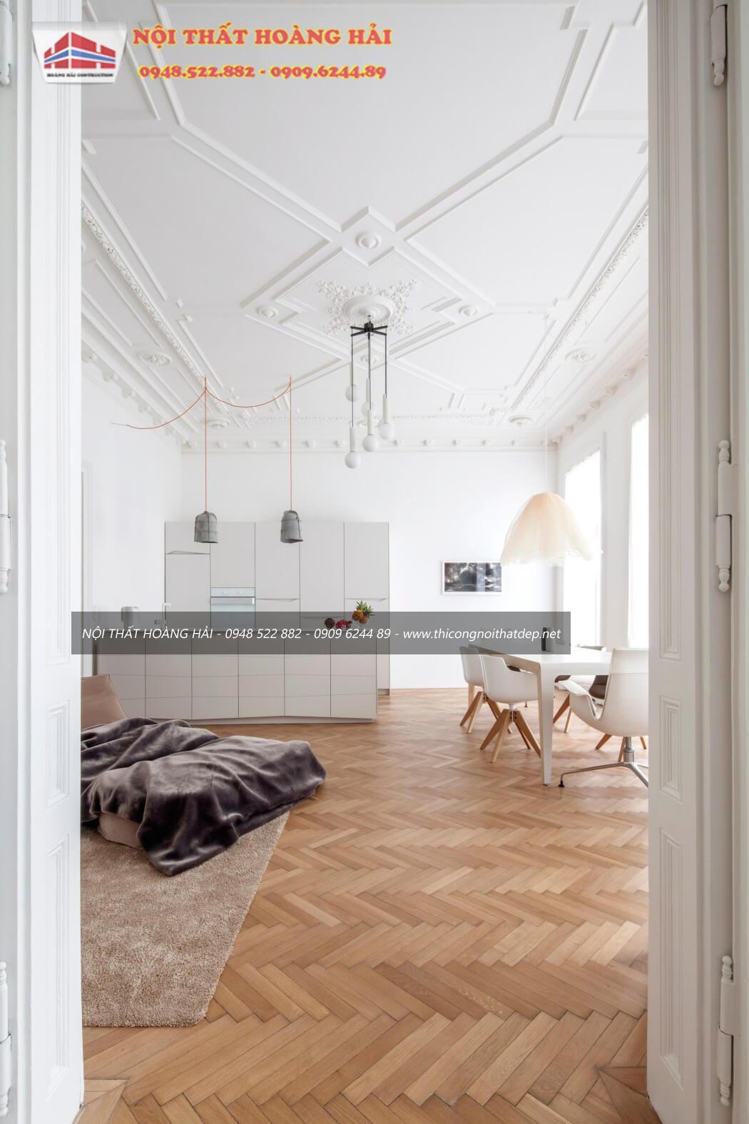 thiết kế nội thất tâncổ điển