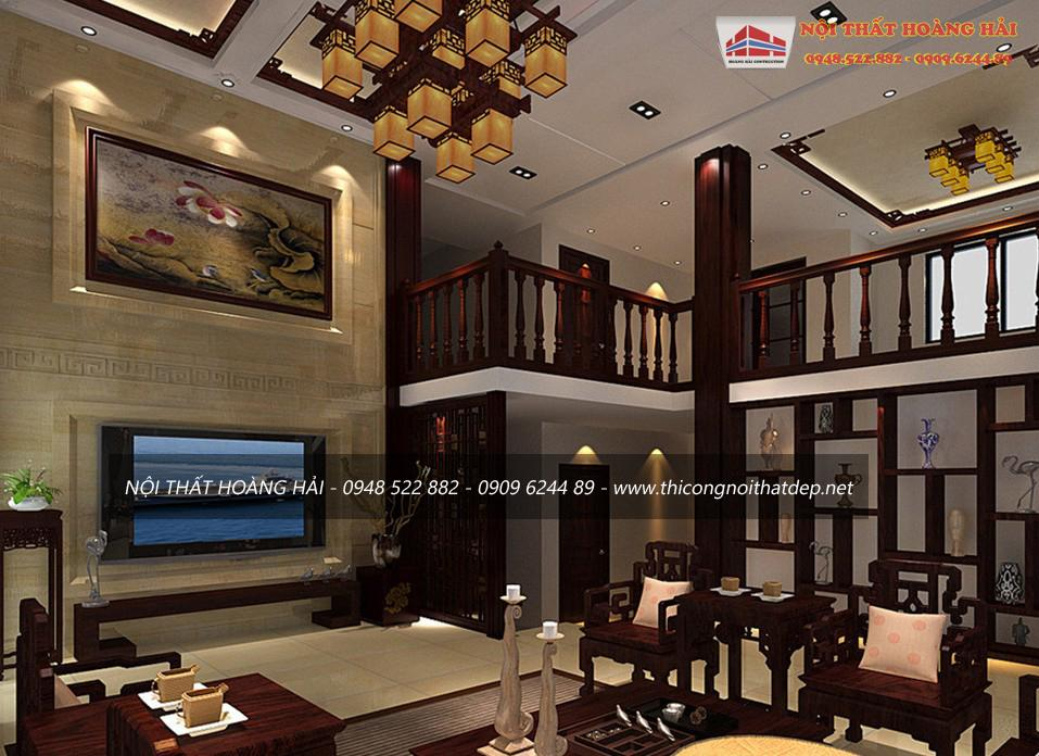 Thiết kế nội thất biệt thự tại Hà Nội