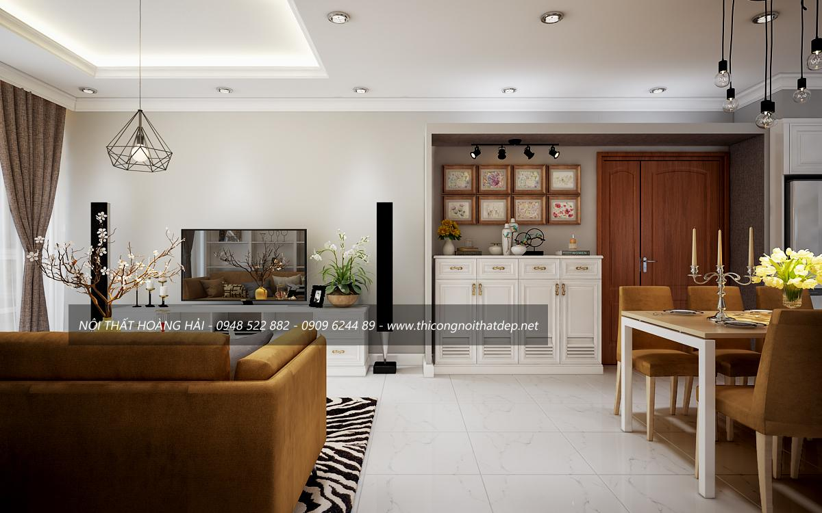 Thiết kế chung cư trọn gói tại hà nội